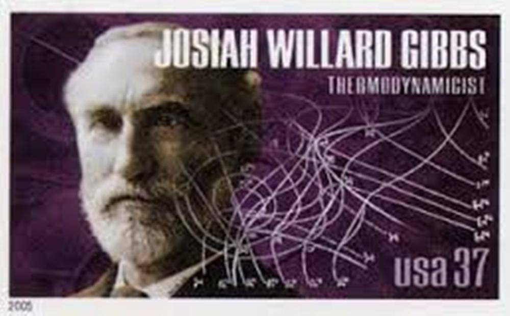 a biography of josiah gibbs an american physicist and mathematician Josiah willard gibbs was an american theoretical physicist, chemist, and mathematician who devised much of the theoretical foundation for chemical thermodynamics as well as physical chemistry as a mathematician, he invented vector analysis and received the first phd in engineering afrom yale university.