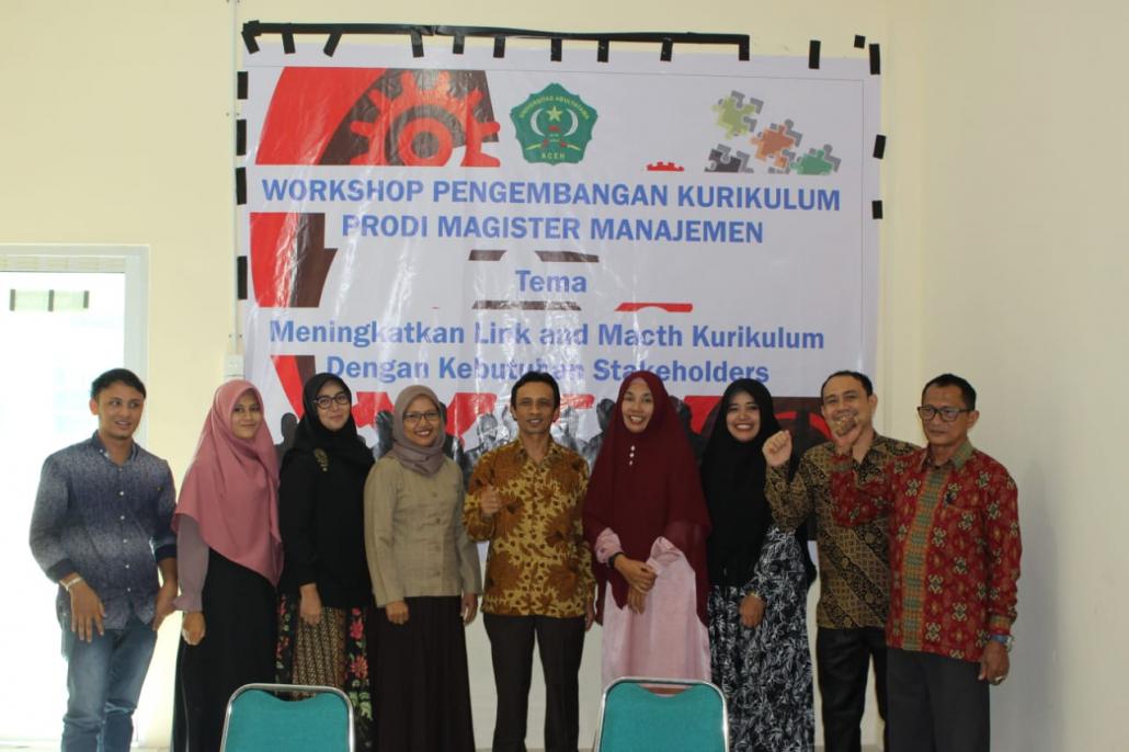 """Kegiatan ini dilaksanakan oleh Lembaga Penjaminan Mutu Universitas Abulyatama dengan tema """"Meningkatkan Link dan Match Kurikulum dengan Kebutuhan Stacholders"""