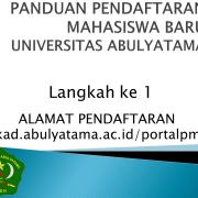 http://sikad.abulyatama.ac.id/portalpmb/